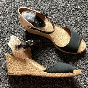 Lucky Brand Espadrille Wedge Sandals 10